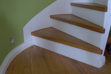 Verkleidung von Treppen